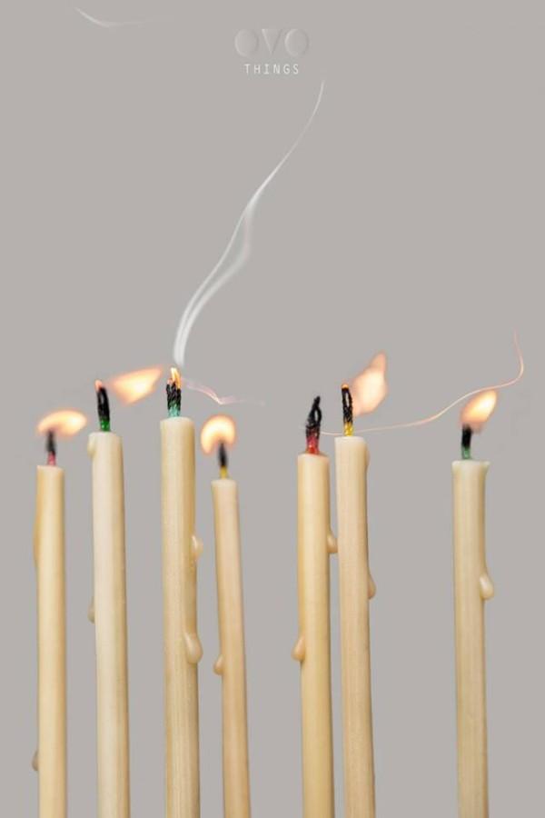 OVO Things  gimtadienio žvakės